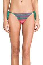 Serpentina Tie Side Bikini Bottoms in Multi