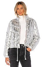 Central Park West Miami Puffer in Silver
