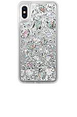 Casetify 24 K Magic iPhone XS Max Case in Silver