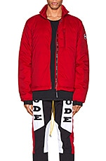 Canada Goose Lodge Jacket in Red