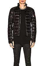 Canada Goose Hybridge Lite Jacket in Black & Graphite