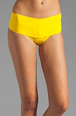 Rita Banded Bottom in Yellow
