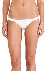 Frankie Banded Bikini Bottoms in White