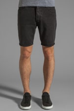 Short Five in Washed Black