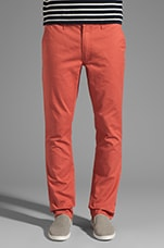 Slim Chino in Red