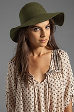 Criss Hat in Army Green