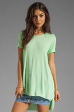 Slice Top in Kimi Green