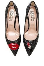 Chiara Ferragni Lips Pump in Black