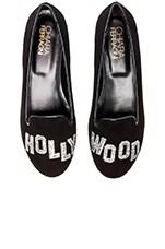 Chiara Ferragni Hollywood Flat in Black