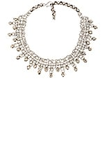The Duchess Choker in Silver