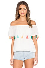Chloe Oliver Bora Bora Swing Top in White