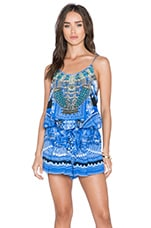 Camilla Shoestring Playsuit in A World Between the Warp