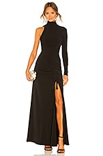 Cinq a Sept Francoise Gown in Black