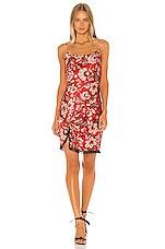 Cinq a Sept Avalyn Dress in Venetian Red Multi