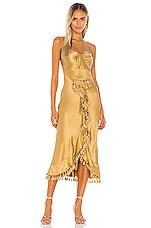 Cinq a Sept Elise Dress in Gold