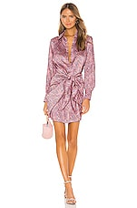 Cinq a Sept Gaby Dress in Psychadelic Paisley