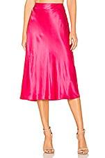 Cinq a Sept Marta Skirt in Guava Pink