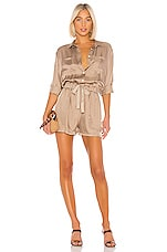 Cinq a Sept Giles Romper in Pewter