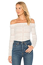 Solene Top in Ivory