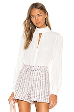Cinq a Sept Ellie Top in Ivory