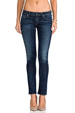 Racer Low Rise Skinny in Patina