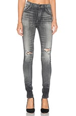 Premium Vintage Carlie High Rise Skinny in Darkside