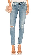 Citizens of Humanity Racer Low Rise Skinny in Distressed Encore
