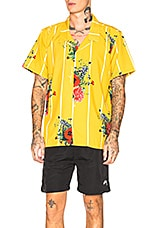 Civil Regime Flores Shirt in Yellow