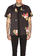 Civil Regime Full Bloom Camp Collar Shirt in Multi