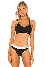 Calvin Klein Underwear Solar Bralette in Black