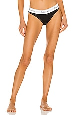 Calvin Klein Underwear Modern Cotton Bikini in Black