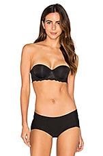 Calvin Klein Underwear Seductive Comfort Strapless Lift Multiway Bra in Black