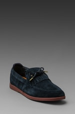 Winston Suede in Deep Navy