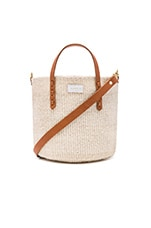 Petit Kenya Bag in Cream Woven