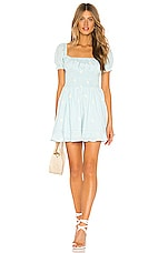Cleobella x REVOLVE Belinda Mini Dress in Baby Blue