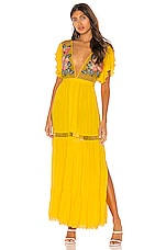 Cleobella Amery Dress in Yellow