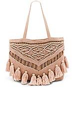Cleobella Swoon Tote Bag in Blush