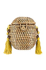 Cleobella Vicente Basket in Lemon