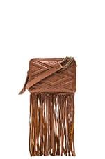 Nadia Fringe Bag in Cognac