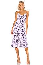 Caroline Constas Kai Slip Dress in Lavender