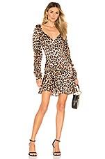 Caroline Constas Evelyn Dress in Leopard
