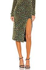 Caroline Constas Pencil Skirt in Teal