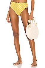 Caroline Constas Viki Bikini Bottom in Orange