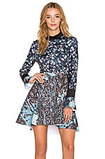 Clover Canyon Bohemian Rhapsody Dress in Multi
