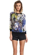 Space Garden Sweatshirt in Multi