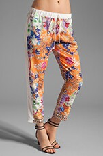 Clover Canyon Picnic Scarf Drawstring Pant in Multi