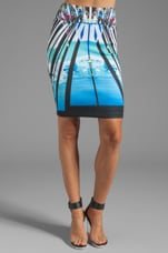 Glacial City Neoprene Skirt in Multi