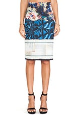 James Joyce Neoprene Skirt in Multi