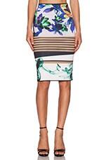 Liquid Jade Skirt in Multi