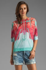 Clover Canyon Lone Rider Top in Multi